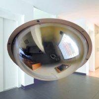 Kogelspiegel polycarbonaat 360° 45 cm, incl. stalen frame