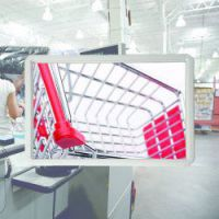 binnenspiegel acryl 400x500 mm met profiel