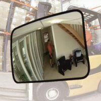 Binnenspiegel 60x80 cm polycarbonaat, incl. beugel