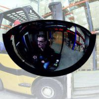 Heftruckspiegel 280x160x100 mm inclusief beugel