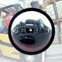 industriespiegel acryl ø 360-80 cm, beugel 48-90 mm